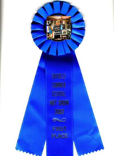 Blue Ribbon Winner at Sayville Art Festival (click to view full size)